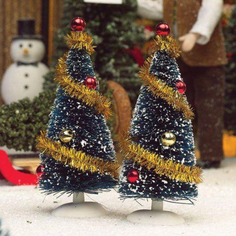 Decorated Trees, 2 pcs 110mm