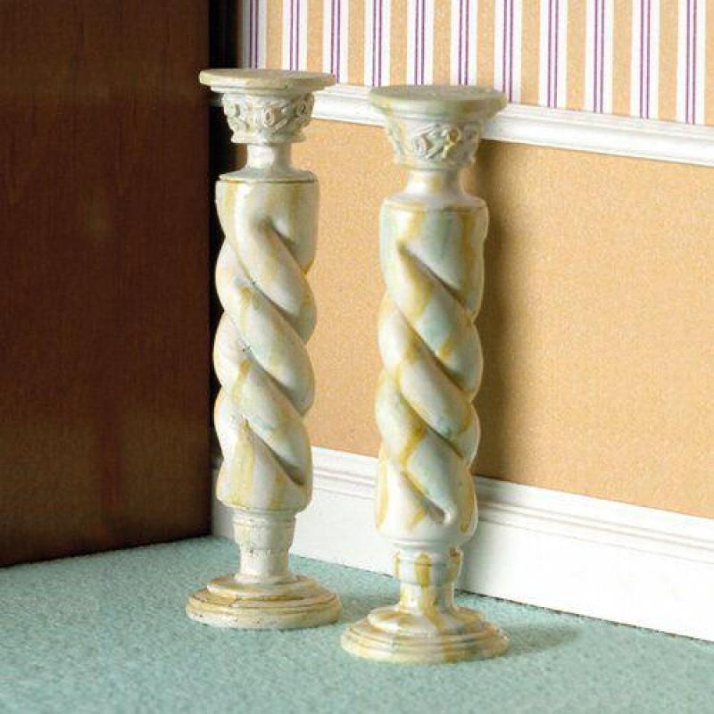 Marble Twist Column 2 pcs. (PR)