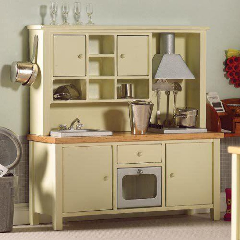 Cream All-in-one Kitchen System