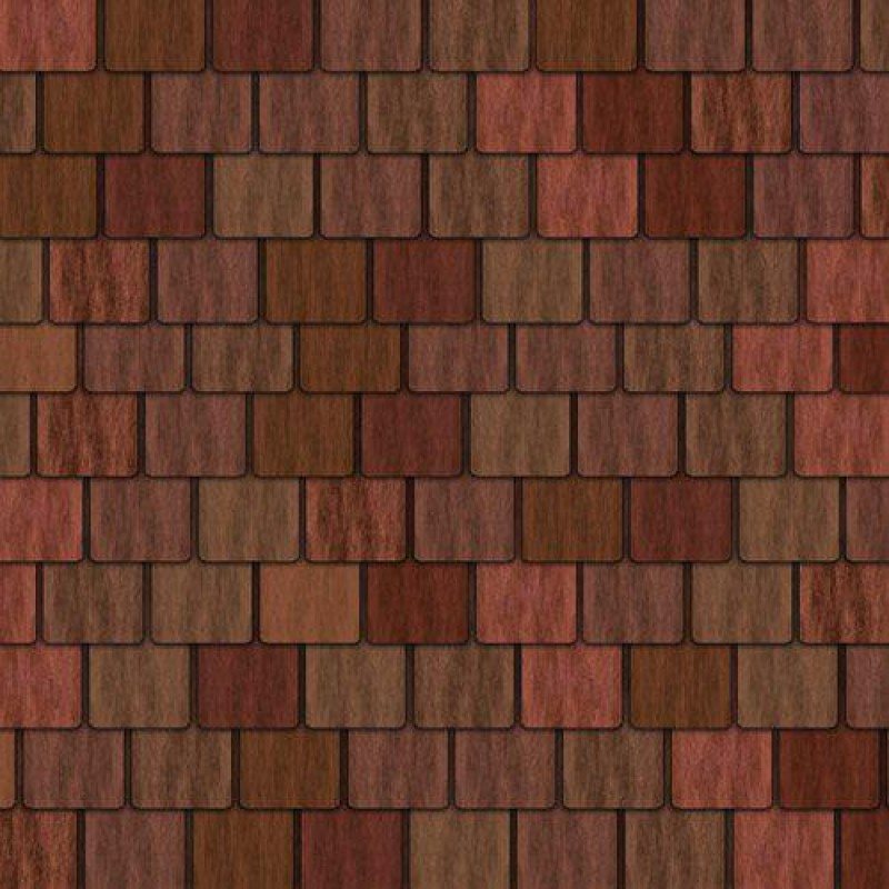 Large Red Roof Tile Sheet 430 x 950mm