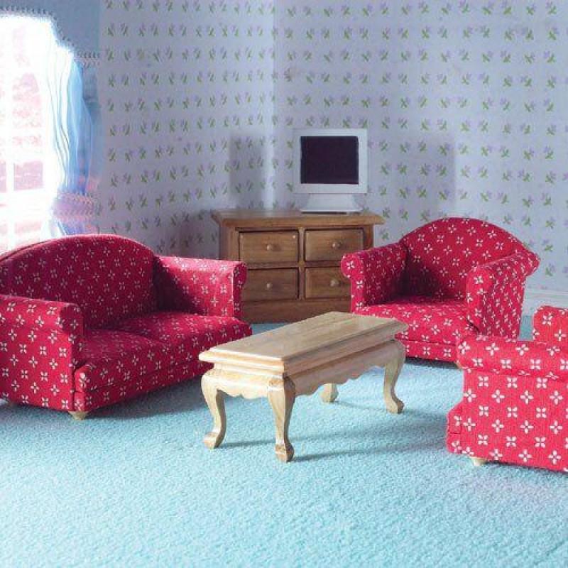 Sitting Room Set, 5 pcs