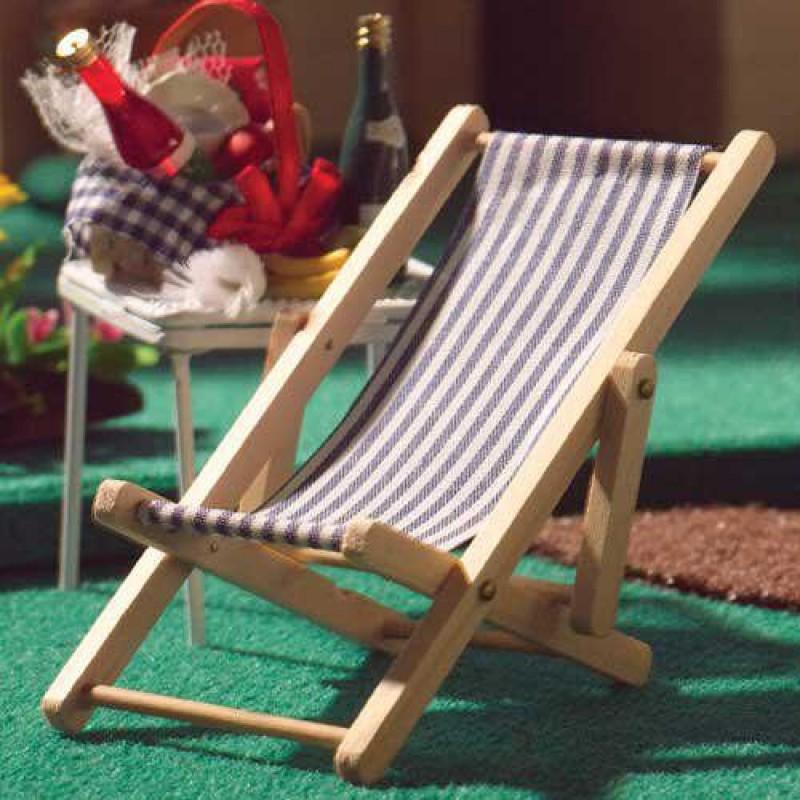 Stripe Deckchair.