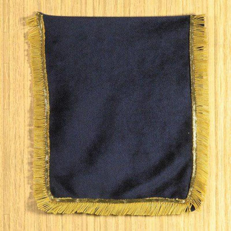Navy Blue Velvet Throw 195 x 160mm