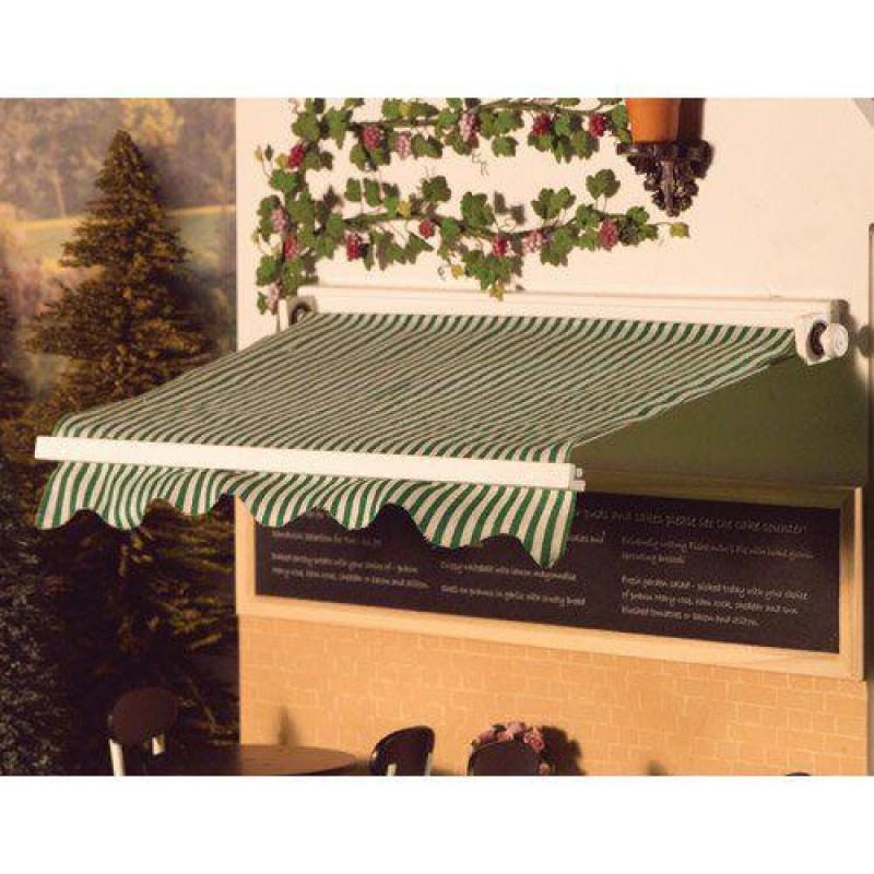 Green Striped Sun Canopy 150 x 255mm