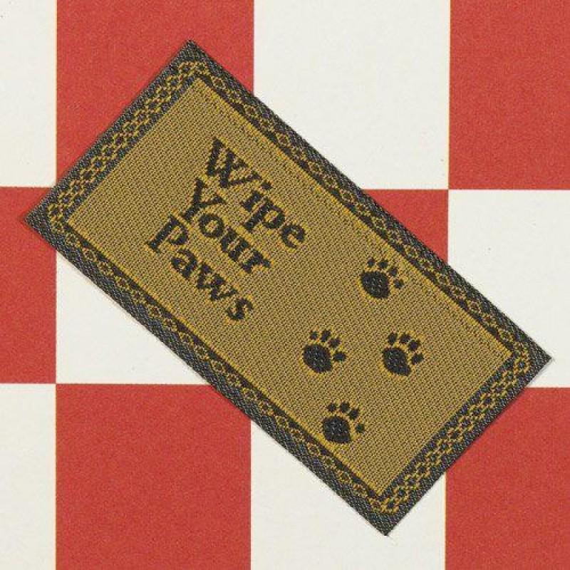 Wipe Your Paws Doormat 56 x 18mm