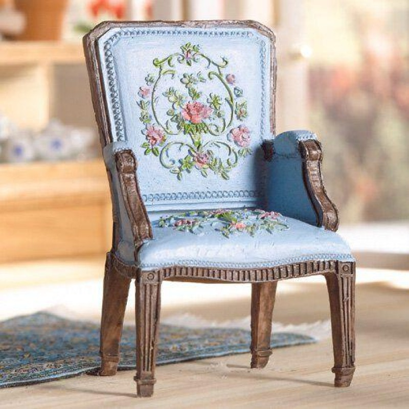 Pretty Blue George III Chair (PR)