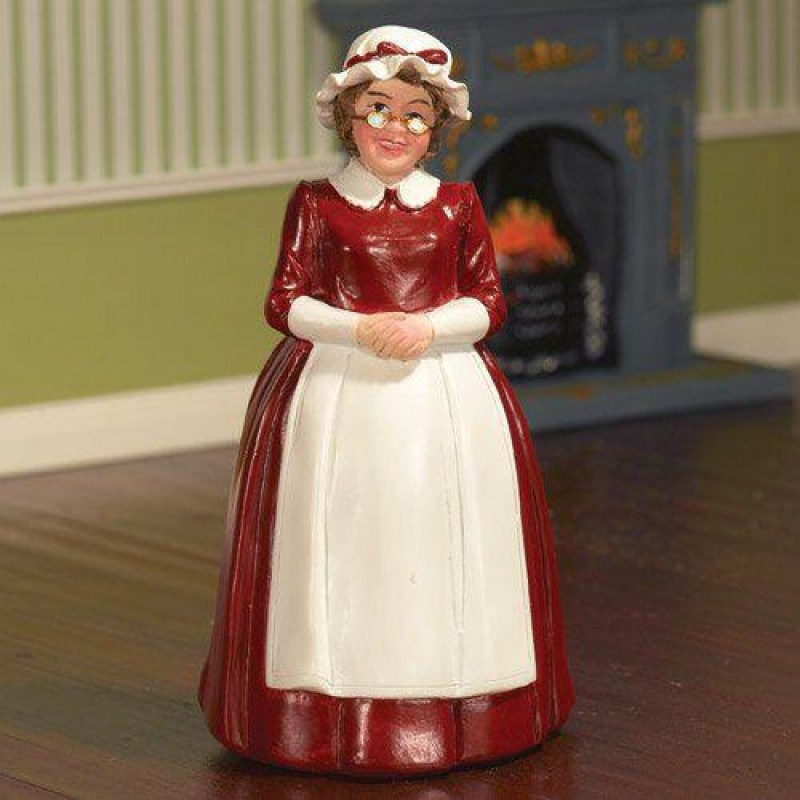 Mrs Claus, Standing Figurine (PR)