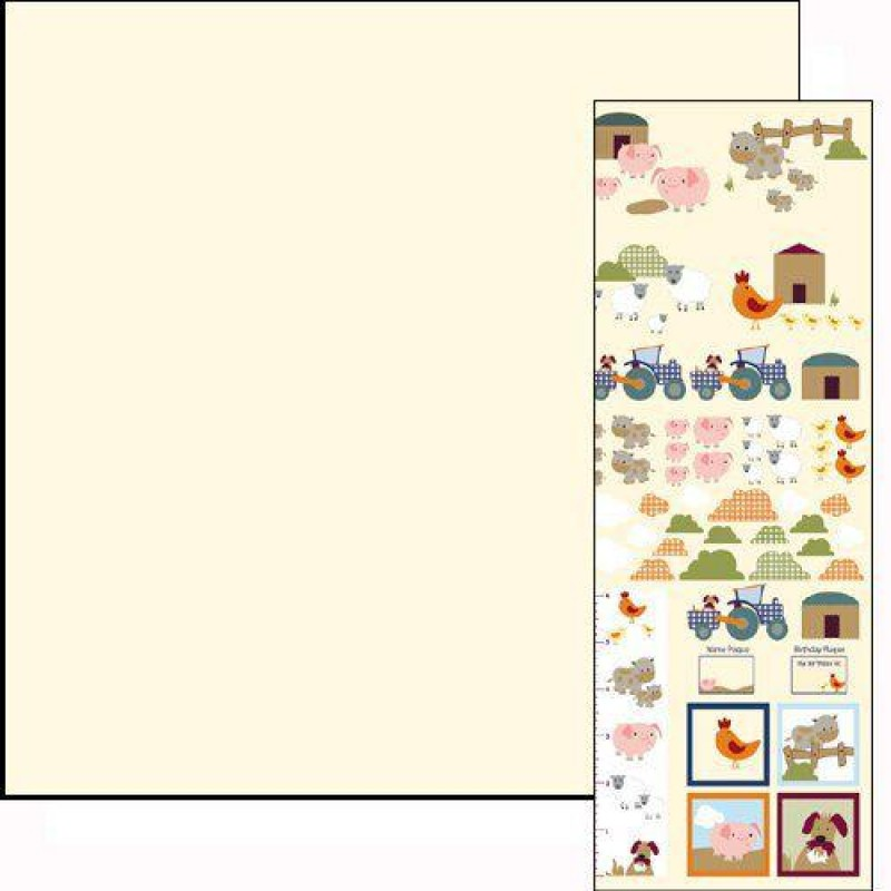 Farm Paper & Motif Sheet 430 x 600mm