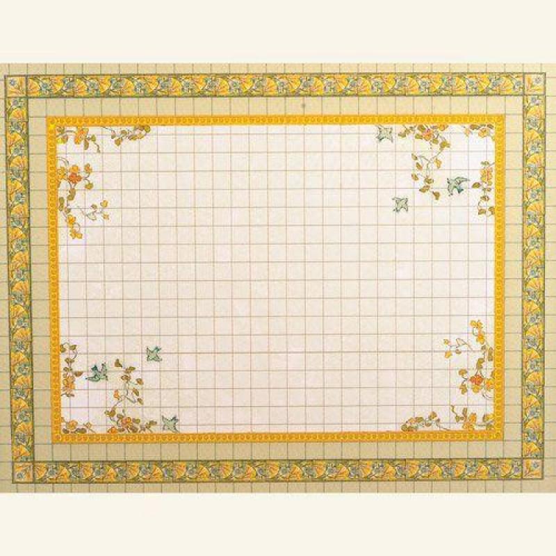 Luxury Floral Mural Flooring 330 x 425mm