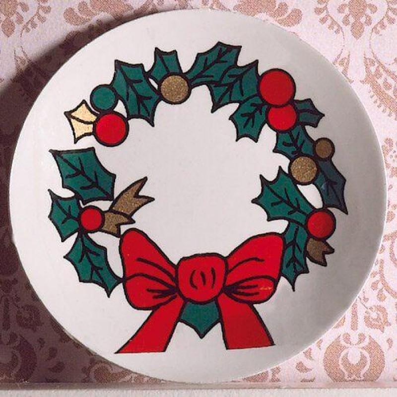 Christmas Wall Plate