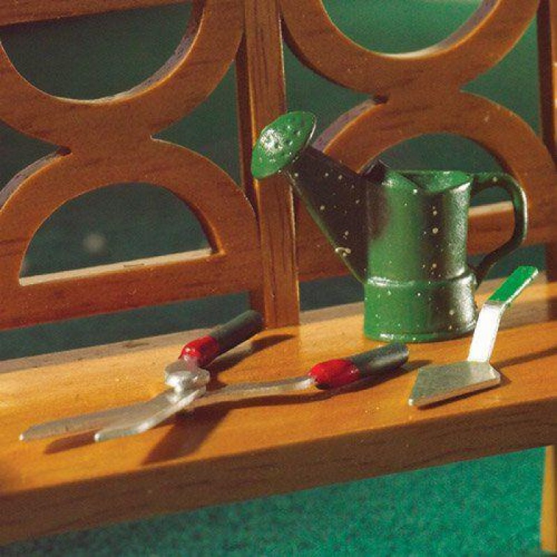 Watering Can, Shears and Trowel Set