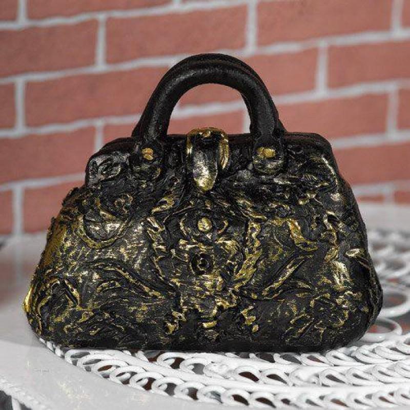 Black & Gold Carpet Bag (PR)
