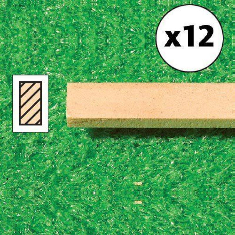 Timber Lengths, 12 pcs 610 x 6 x 3mm