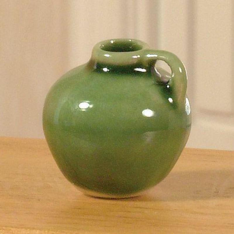 Green Glazed Earthenware Jug