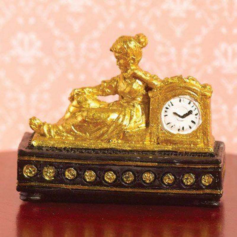 Gold Ormolu-style Clock (PR)
