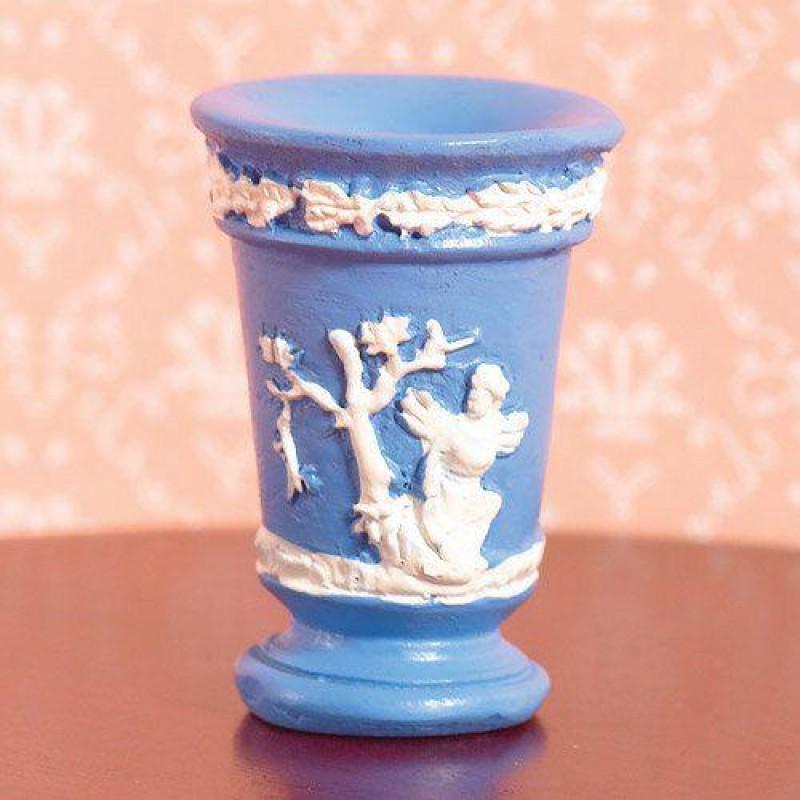 Jasper Blue Vase (PR)