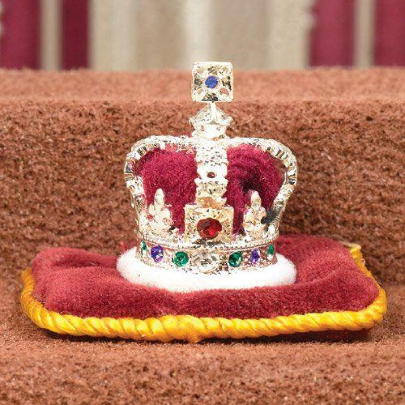 Imperial State Crown Cast in Pewter