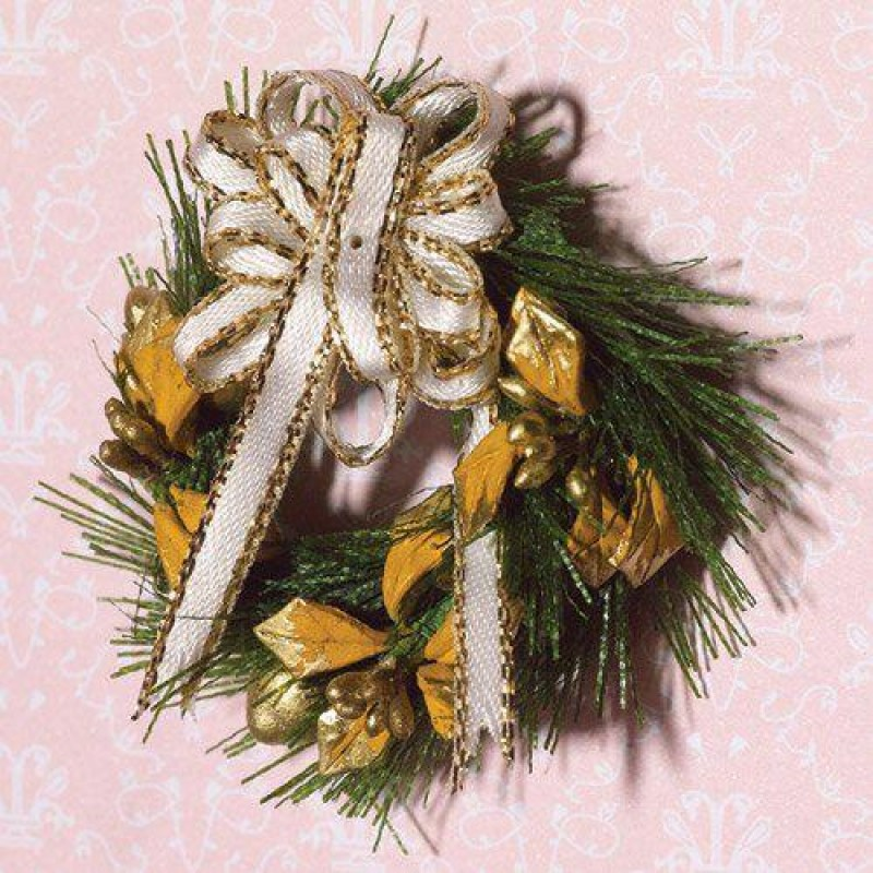 Seasonal Garland with Bows