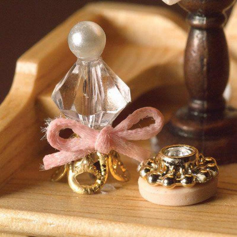 Perfume Bottle & Compact