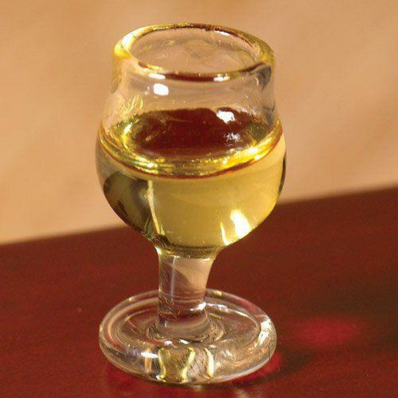 Large Glass of White Wine