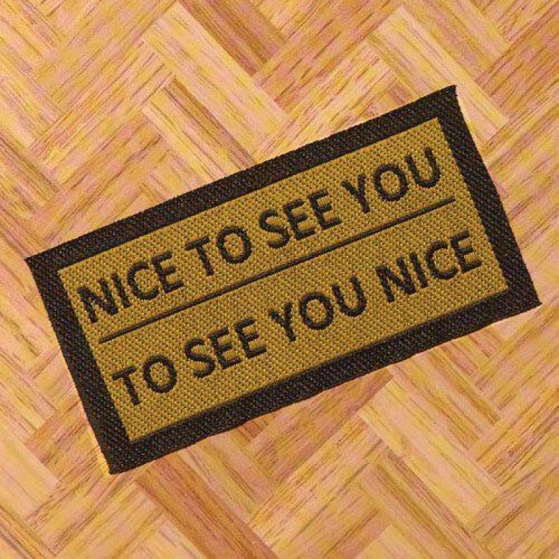 Nice to See You Door Mat 70 x 35mm