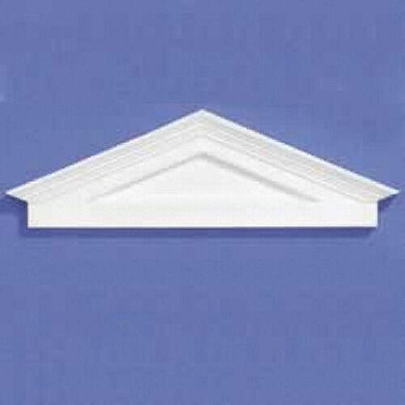 White Plastic Portico 38 x 127 x 9mm