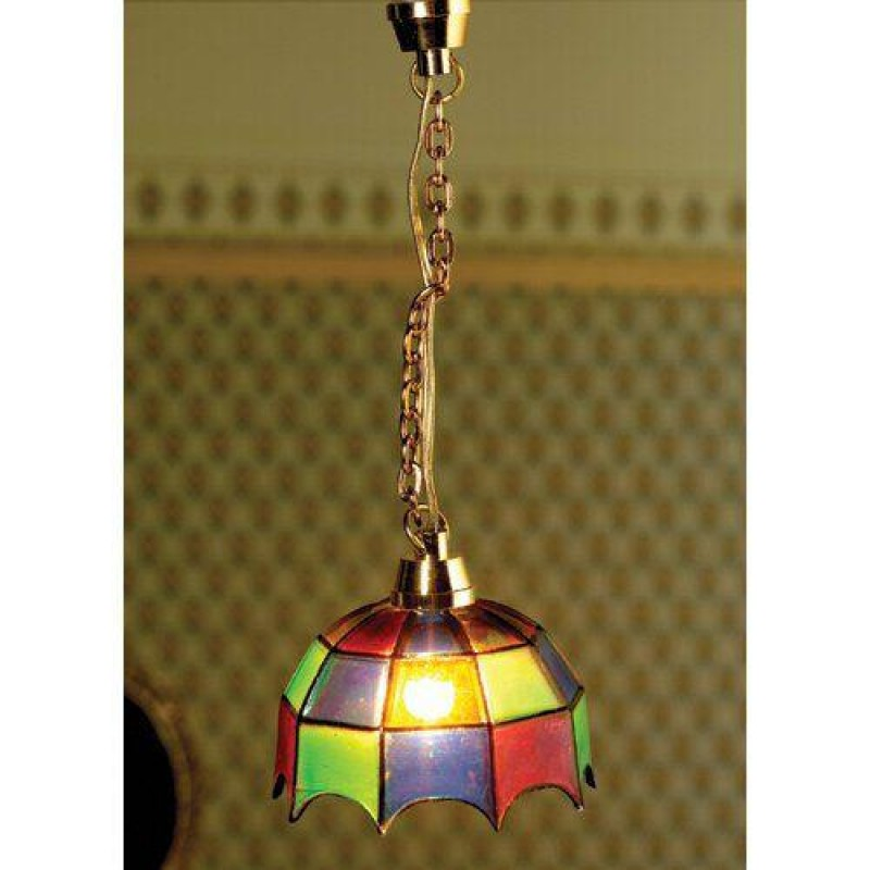 Coloured Tiffany Light