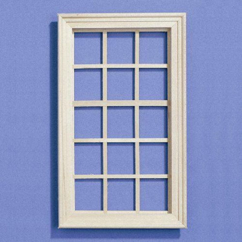 Large Wooden Window fits opening 166 x 94mm