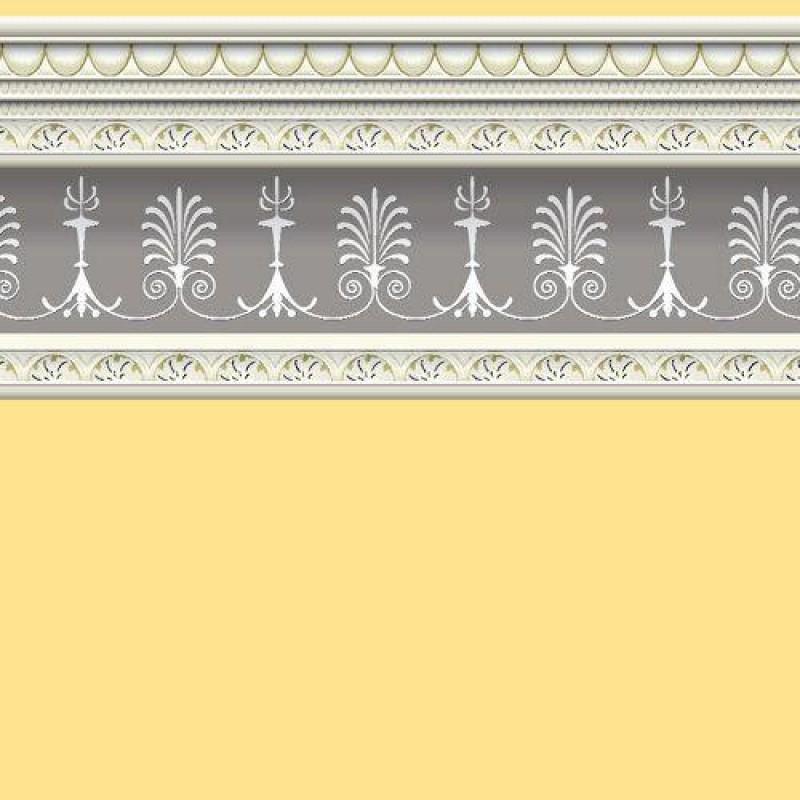 Soft Yellow Wallpaper 430 x 600mm