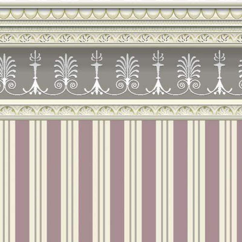 Heather Stripe Wallpaper 430 x 600mm
