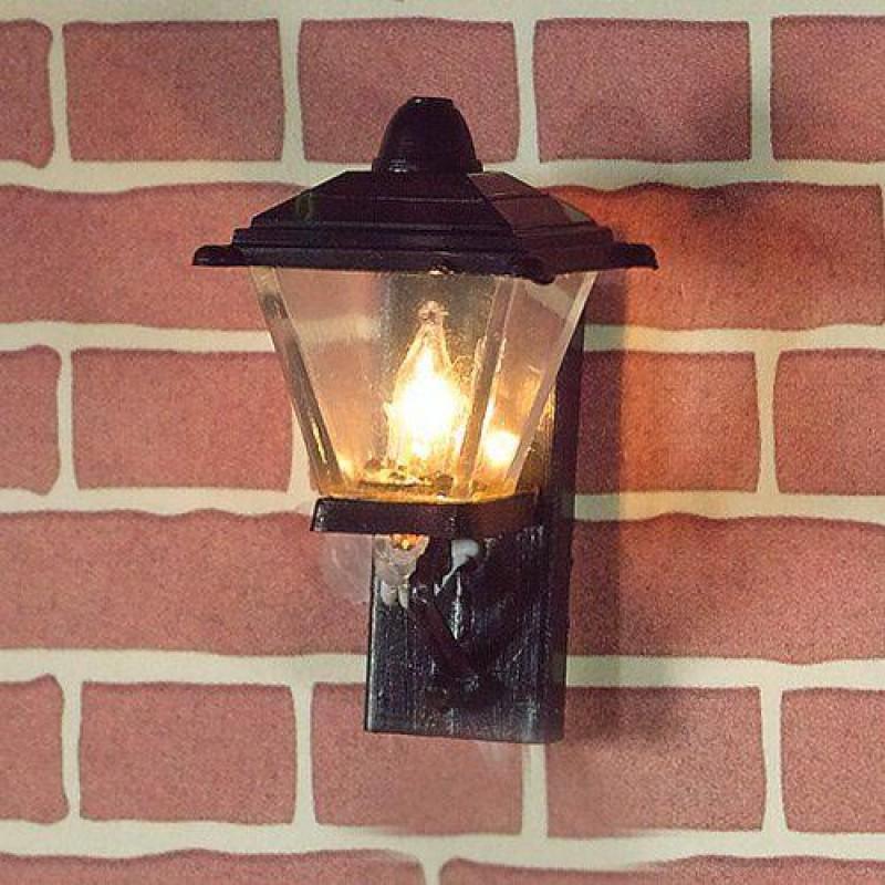 Black Outside Wall Light