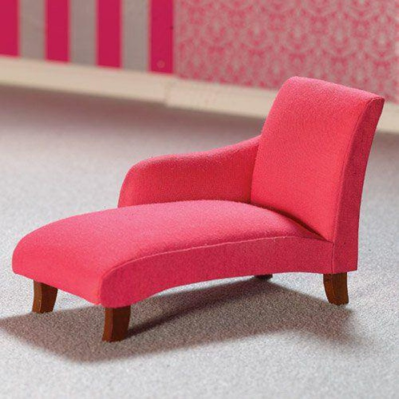 Shocking Pink Chaise Longue