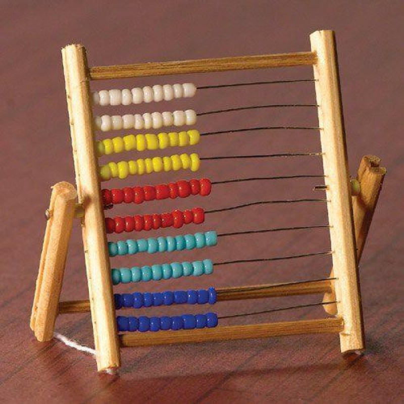 Abacus with Counting Beads