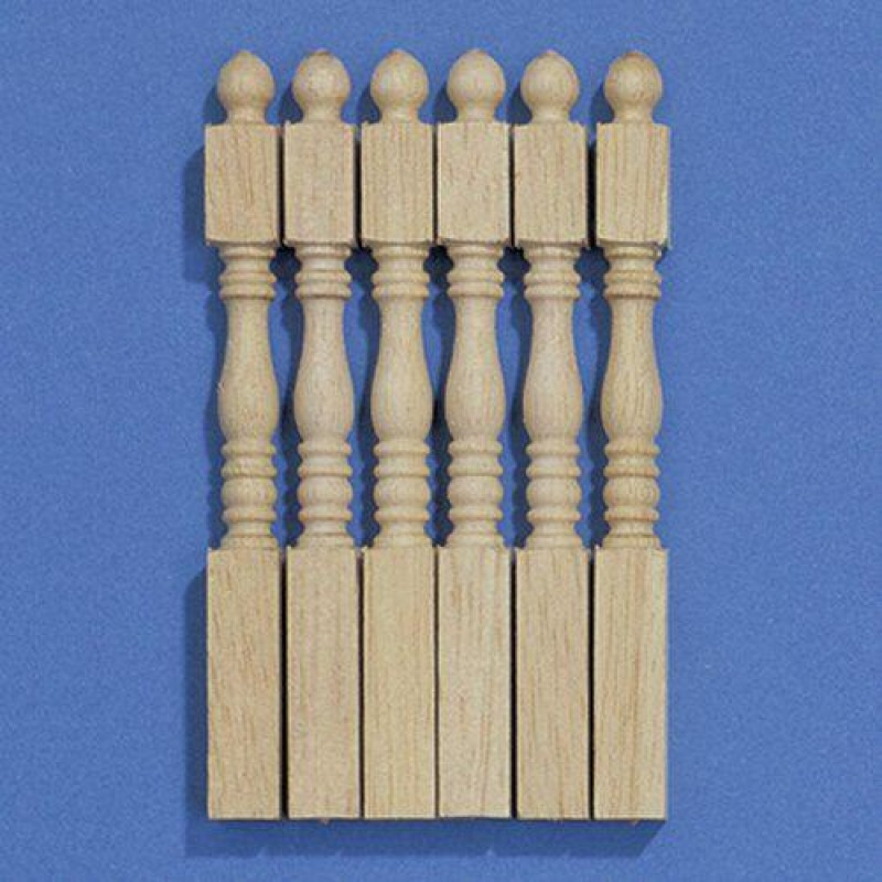 Tapered Newel Posts, 6 pieces 88mm