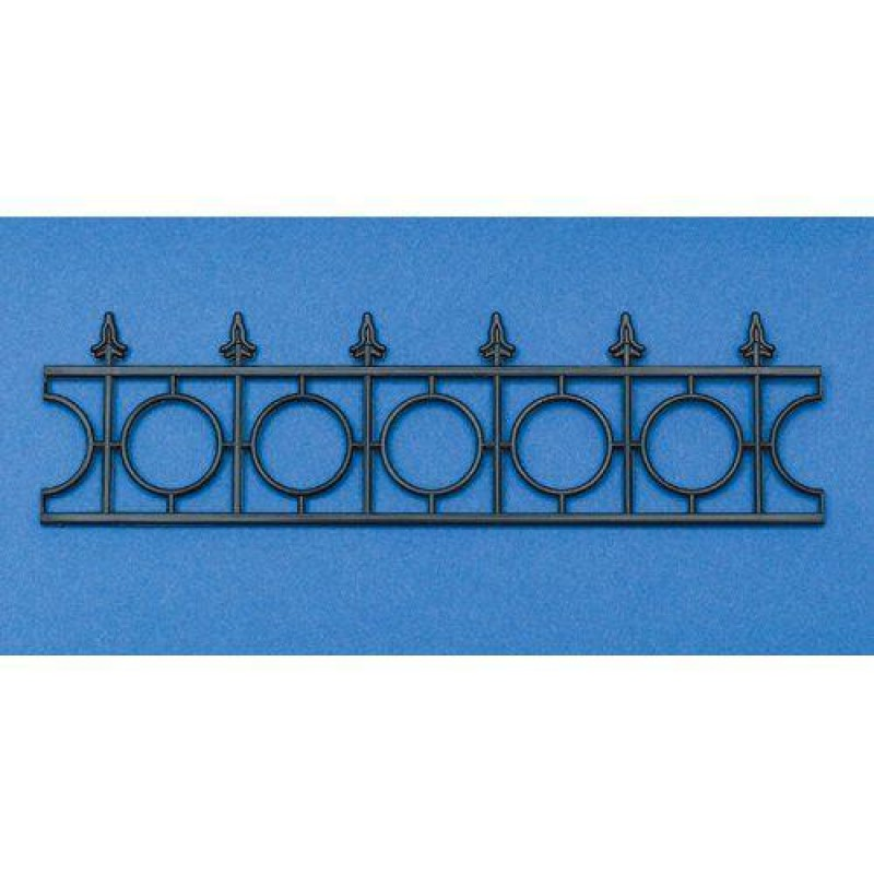 Arrow Top Railing, Plastic 42 x 153mm
