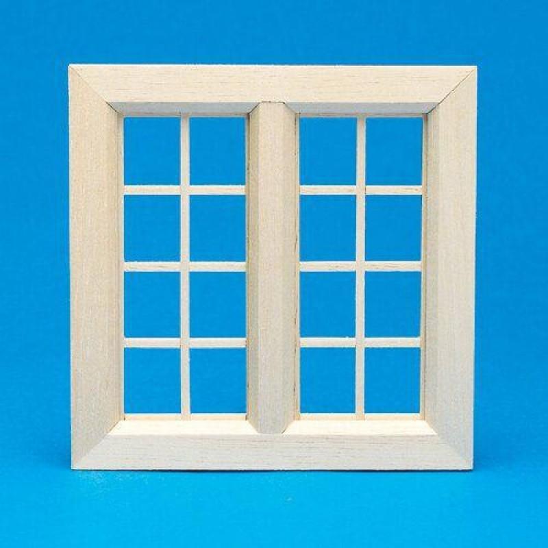 Cottage Wooden Window, Medium