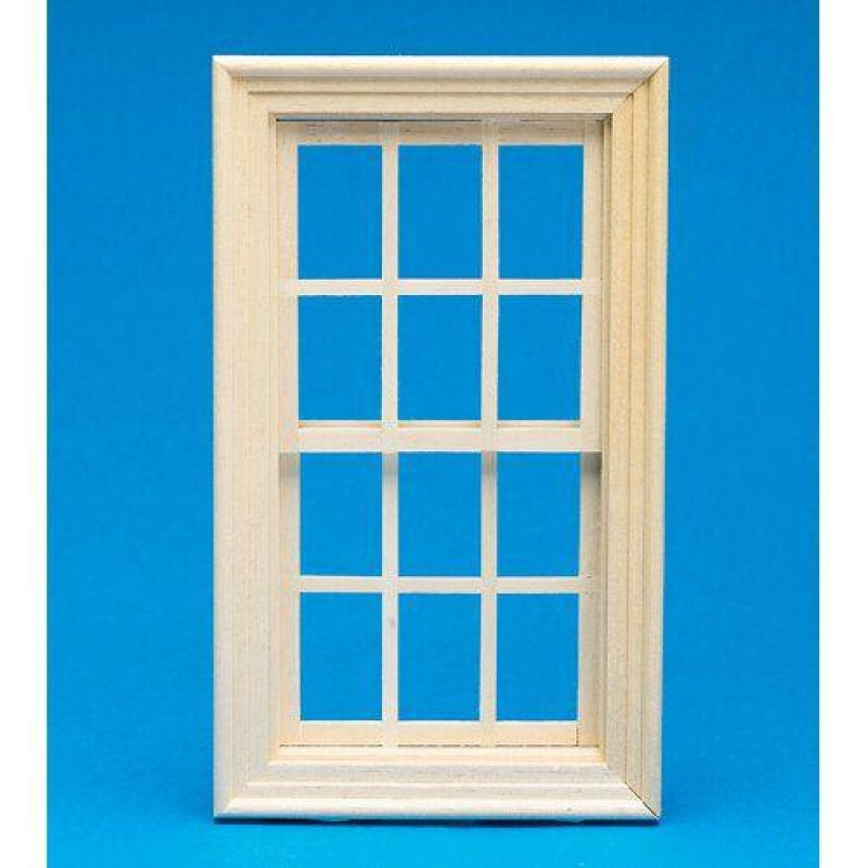 Working Wooden Sash Window