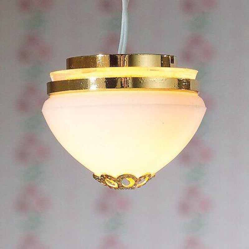 Dome Flush Ceiling Light
