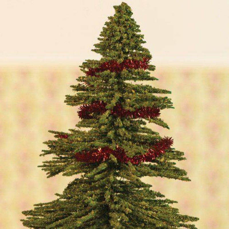 Red Christmas Tinsel. Length 2000mm