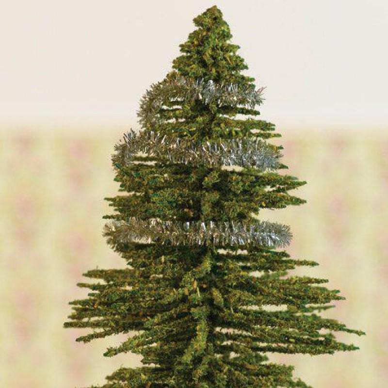 Silver Christmas Tinsel. Length 2000mm