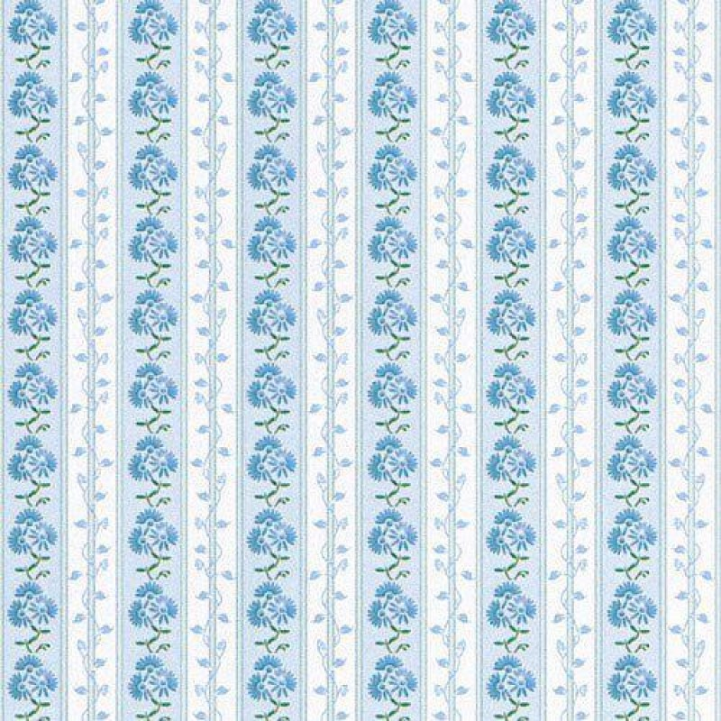 Blue Aster Wallpaper 430 x 600mm