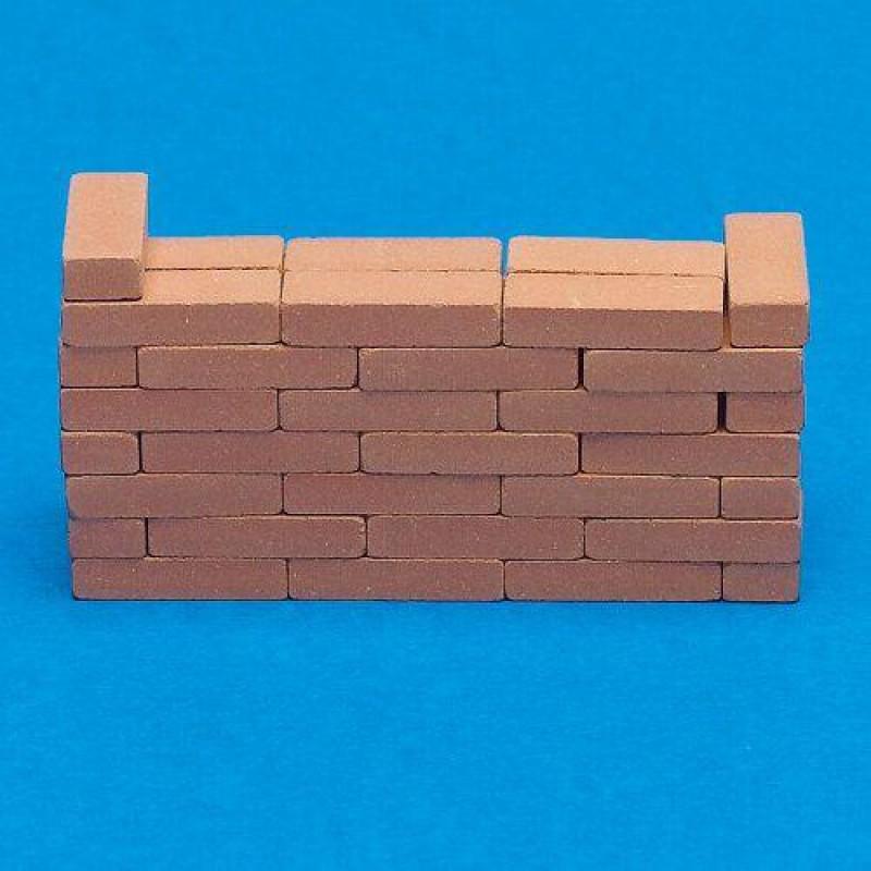 Individual Clay Bricks, 50 pieces