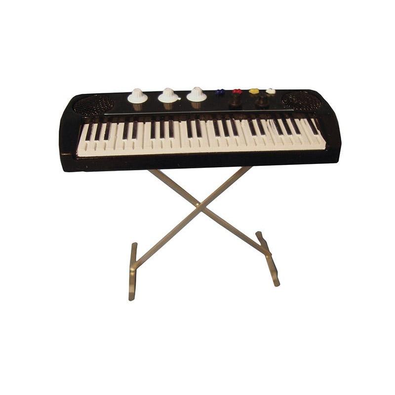 Modern Keyboard on Stand