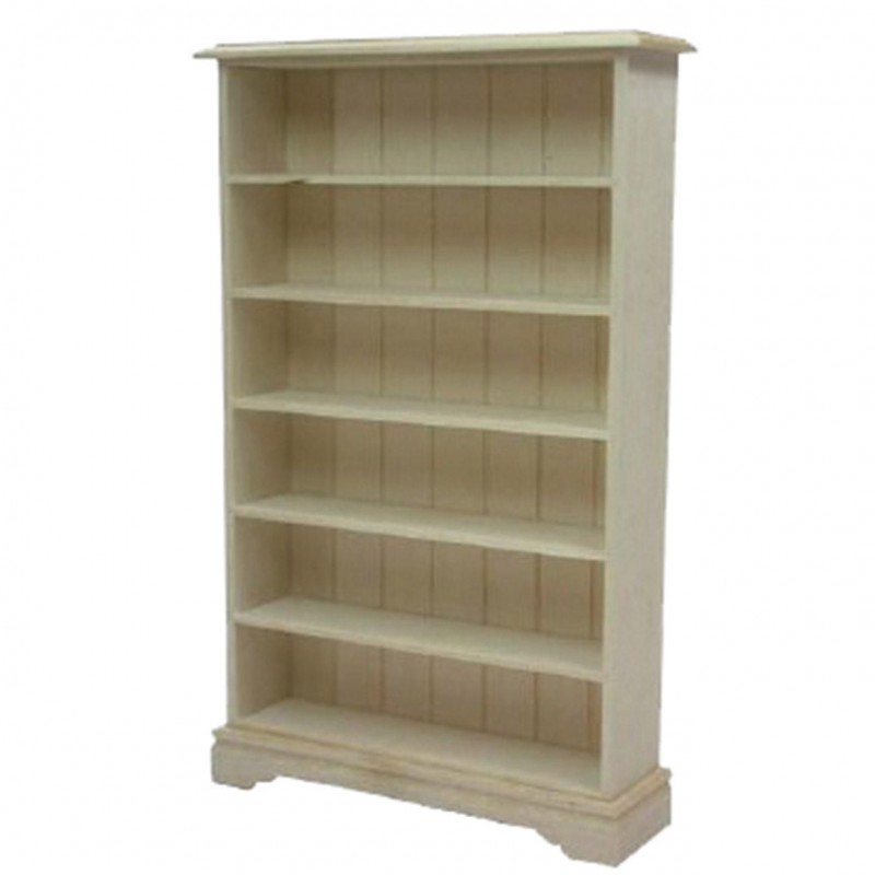 6 shelf book case