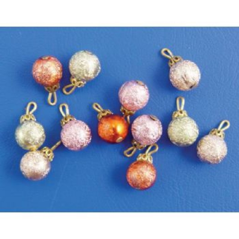 Christmas Baubles, 12 pieces