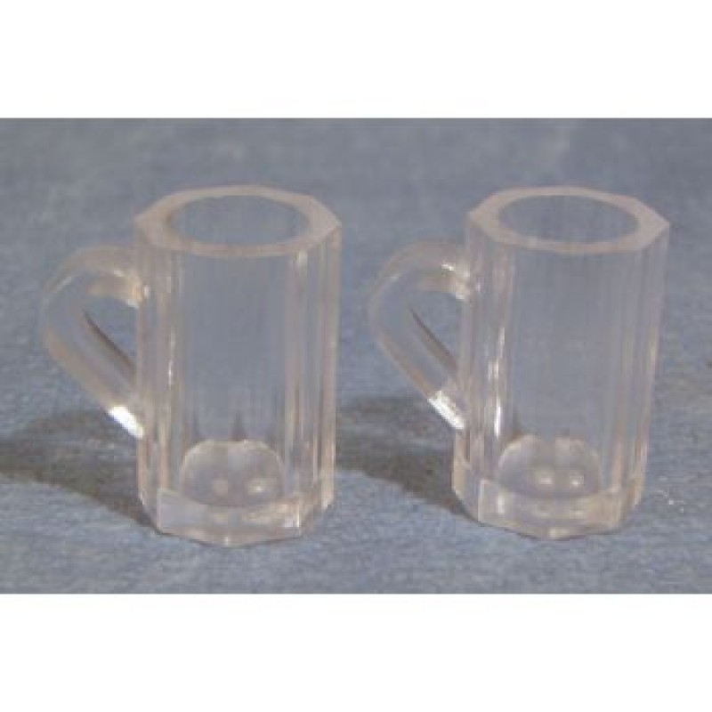 Glass' Beer Mugs, 2 pieces
