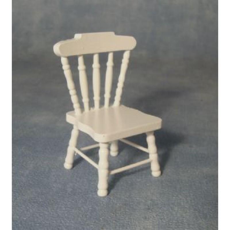 White Kitchen Chair