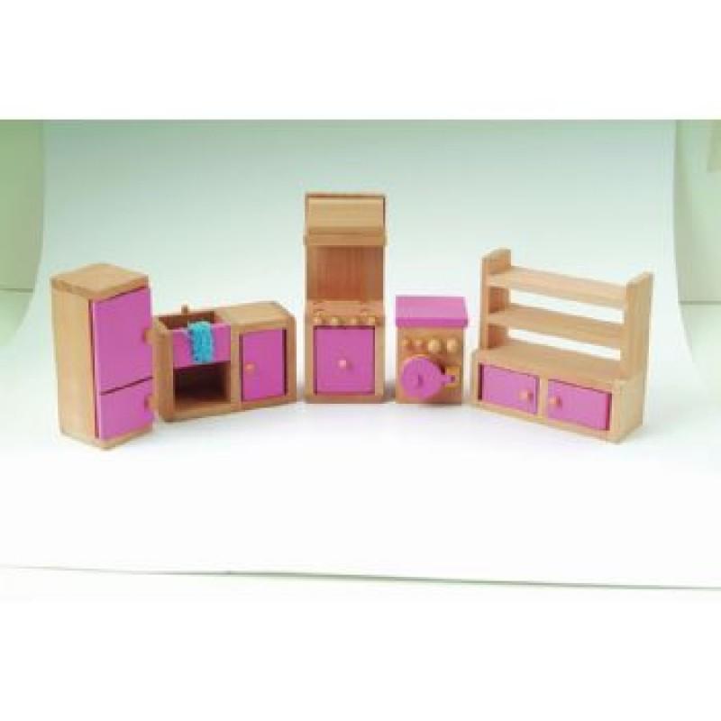Pink Kitchen Set