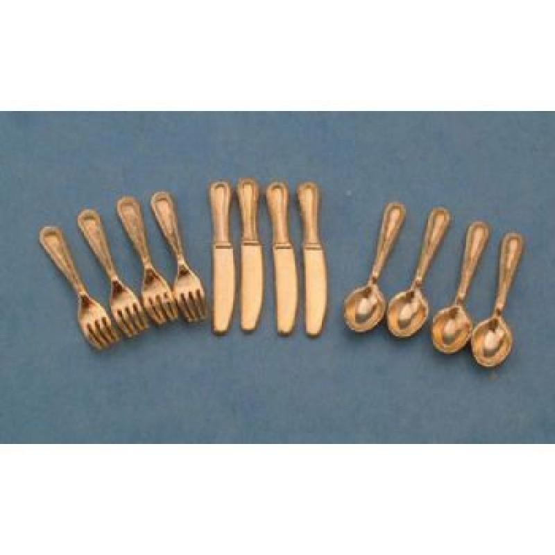 Gold' Cutlery Set