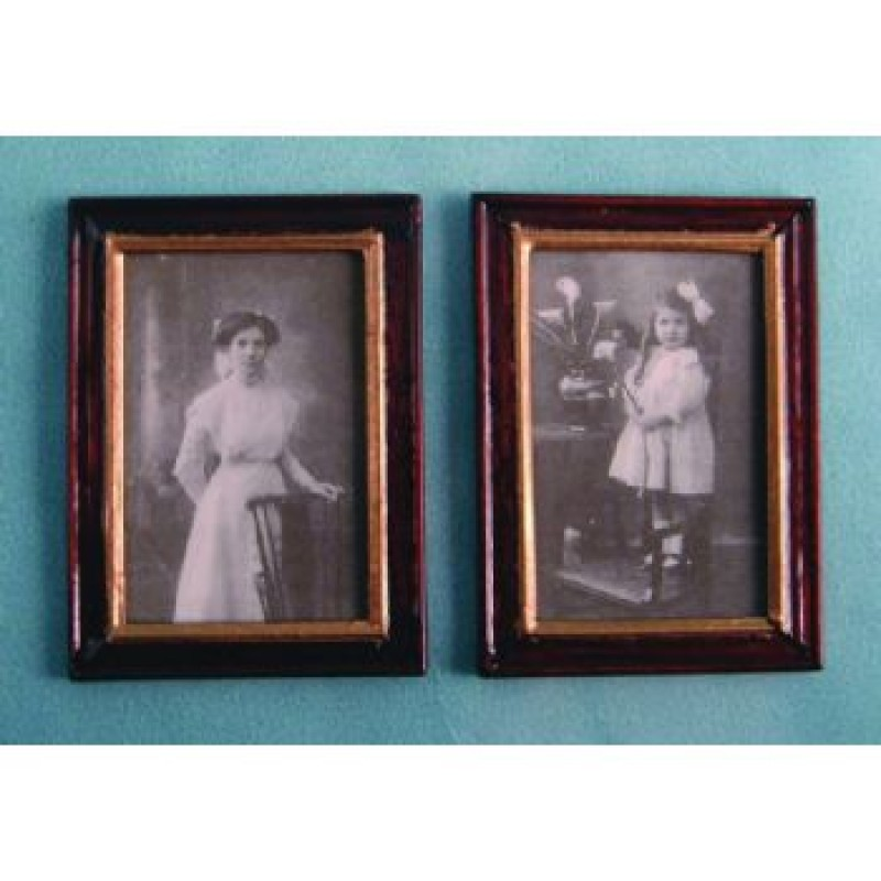 Framed Pictures, 2 pieces